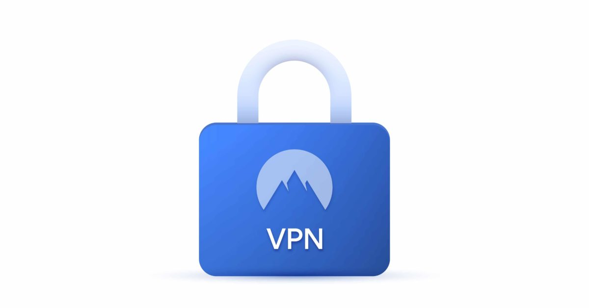 Quel VPN choisir pour sécuriser ses connexions internet pro ? - Un gros plan d'un logo Nordvpn - meilleur vpn