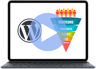 Formation Videos Tunnel Vente Wordpress