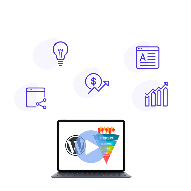 Formation Videos Tunnel Vente WordPress Soswp