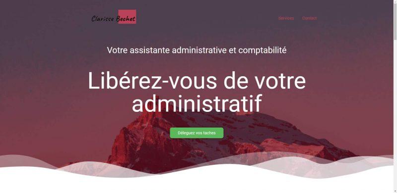 Site Clarissebechet.fr