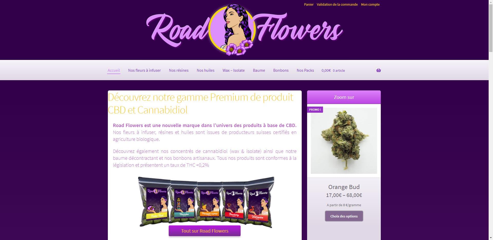 Site Roadflowers