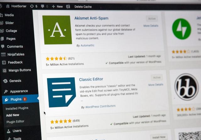 Configurer Plugin Wordpress