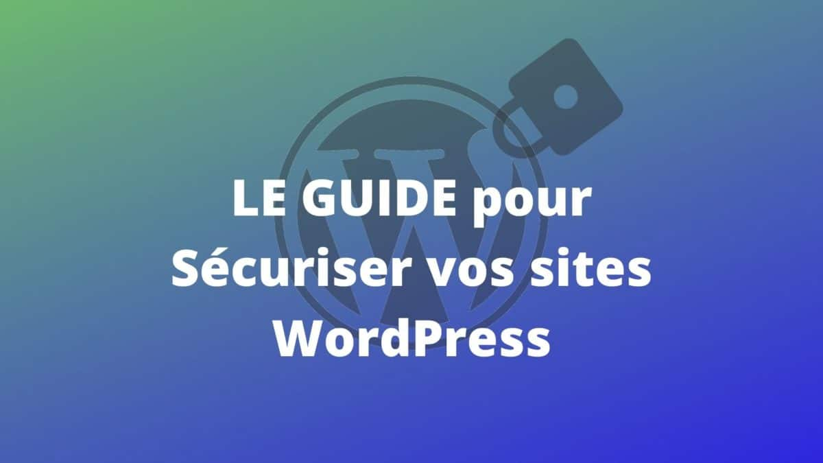 Securisez Site Wordpress